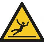 Warning - Slip Hazard