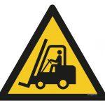 Warning - Forklift trucks